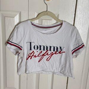 Tommy hilfiger crop tee